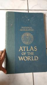 Livro Atlas 1981 Importado Eua Grande Frete Grátis