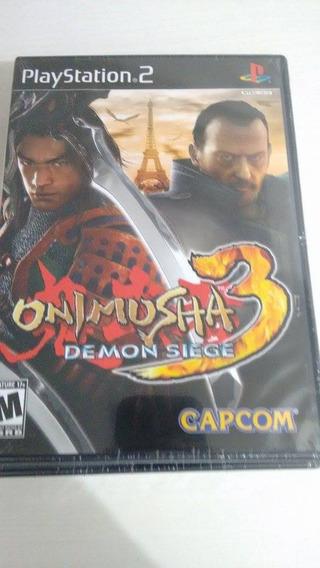 Onimusha 3 Game Original Lacrado Americano Playstation 2