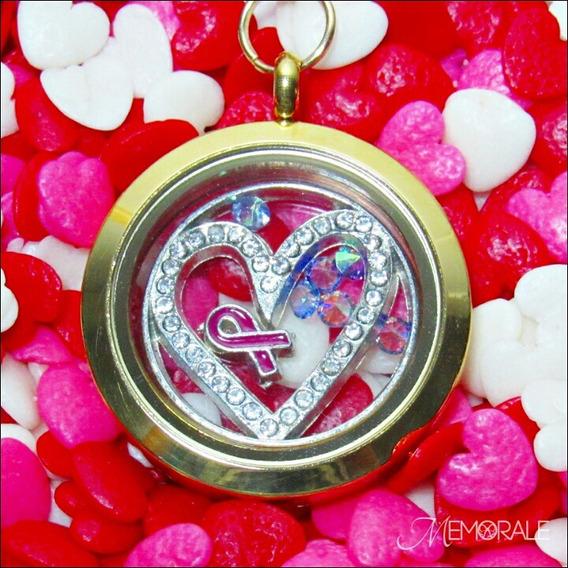 Medalhão Da Vida - Coração (colar Personalizado) Presente
