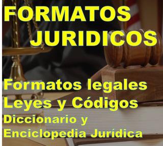Formatos Juridicos Docs Libros Codigos Leyes Digital