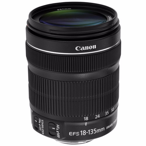 Lente Canon Ef-s 18-135mm F/3.5-5.6 Is Stm 12x S/juros