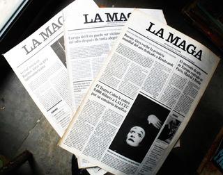 Revista La Maga Noticias De Cultura / Números 1992-1995