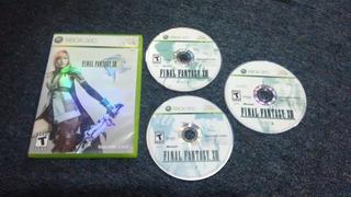 Final Fantasy Xiii Sin Instru Para Xbox 360,excelente Titulo