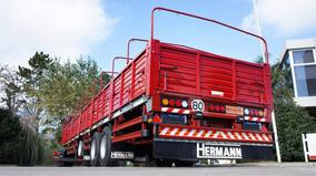 Semirremolque Baranda Volcable Hermann 0km - ¡60 Cuotas! 2+1