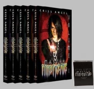 Criss Angel Master Mindfreaks Vol. 1- 5 (gimmick Incluido)