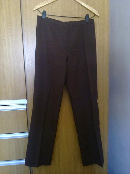 Pantalón De Vestir Verde Oscuro - Talle M