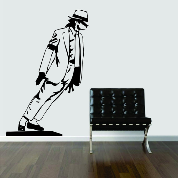 Adesivo De Parede Quarto Música Rock Pop Michael Jackson