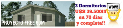 Casas 3 Dormitorios Unicas. En Junio Regalamos U$s 10.000!!