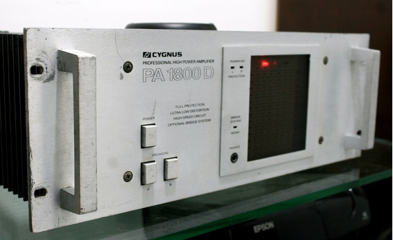 Cygnus Pa-1800d Amplificador Stereo