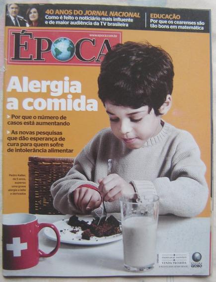 Revista Época - Edição 589 -agosto De 2009- Alergias E Comda