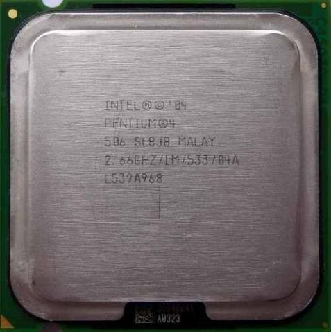 Processador P4 Intel 2.6ghz Skt 775 P/pc. Envio Td.brasil