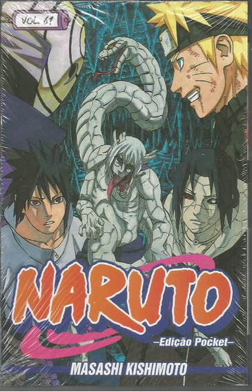Naruto Pocket 61 - Panini - Bonellihq Cx224c K19