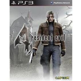 Resident Evil 4 Hd Ps3 Psn Midia Digital