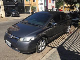 Honda Civic 1.8 Lxs Aut. 4p 2007 Blindado