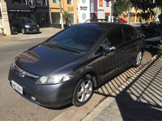 Honda Civic 1.8 Lxs Aut. 4p 2007 Blindado