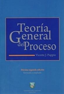 Teoria General Del Proceso Vicente Puppio
