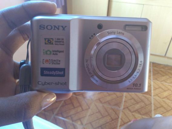 Câmera Sony Cyber Shot ( 10.1 Megapixels) Zoom Óptico 3x