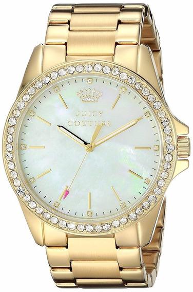 Reloj Juicy Couture Stella Acero Tono Dorado Mujer 1901261