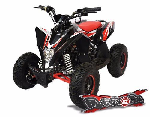Quadriciclo 90cc 4 Tempos Preto/vermelho