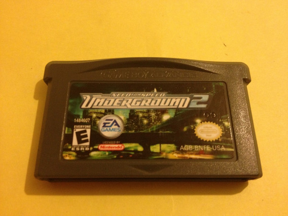 Need For Speed Underground 2 Gba Original Americano! Jogão!