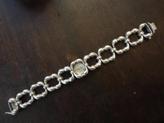 Relógio Technos Feminino Em Prata 900 Antigo