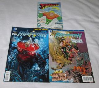 Aquaman, Paquete De 3 Comics.