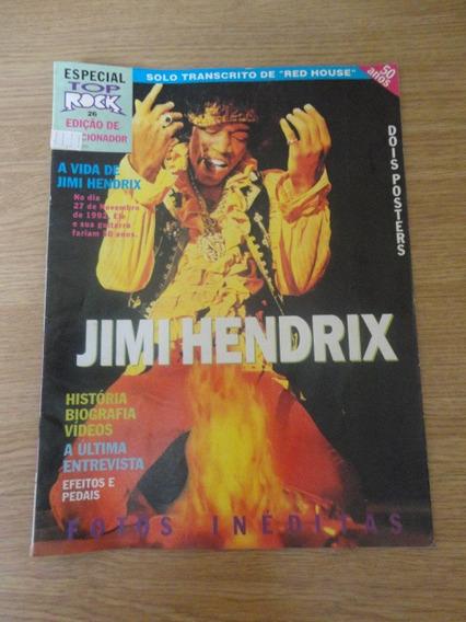 Jimi Hendix Revista Top Rock Nº 26 Especial (c/ Poster)