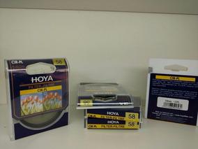 Filtro Polarizador Hoya 58mm Cpl Lente Canon Nikon Sony Fuji