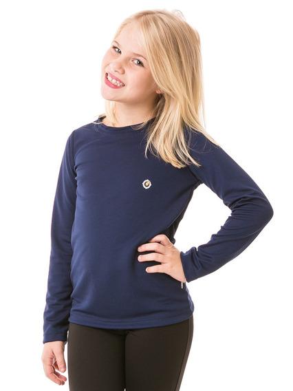 Camiseta Extreme Uv Dry Infantil Feminina Com Proteção Solar