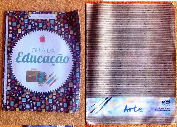 Livro - Lote Com 2 Revistas - Guia Educação E Arte