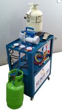 Recicladora E Recolhedora De Gas Ar Condicionado Automotivo