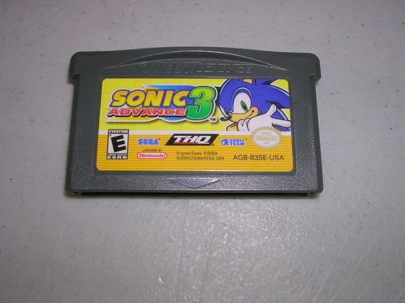 Gba: Sonic Advance 3 Americano Original!! Jogo Novinho!!