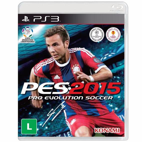 Jogo Pro Evolution Soccer 2015 - Pes 15 - Ps3