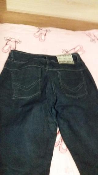 Calça Jeans Feminina Cintura Media 44