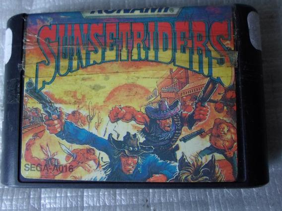 Sunset Riders Para Mega Drive