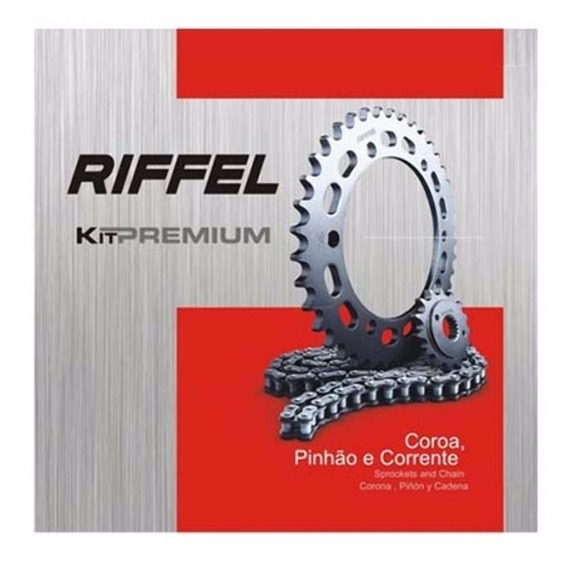 Kit Relação Yamaha Crosser 150 Riffel Premium