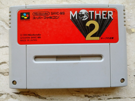 Mother 2 (earthbound) Original Para Super Famicom E Snes