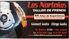 Taller De Frenos Los Norteños Pastillas, Servo, Bomba Y Vtv!
