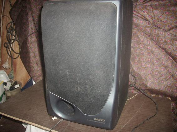 Caixa Som Acustica Sanyo 1 Peça;antigo