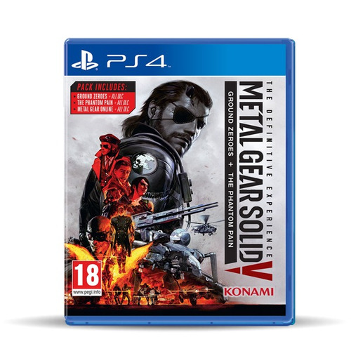 Metal Gear Solid V Definitive Experence, Físico, Macrotec