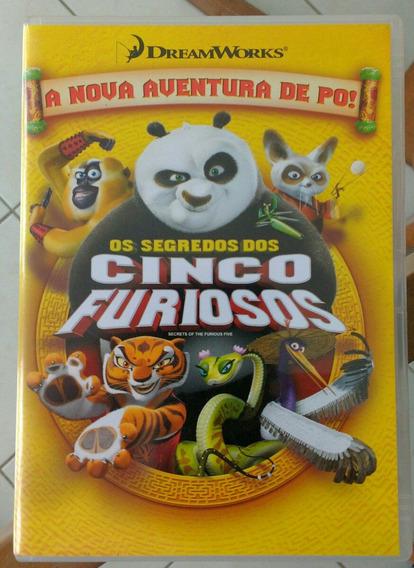 Dvd Urso Panda - Os Segredos Dos Cinco Furiosos - Dream Work