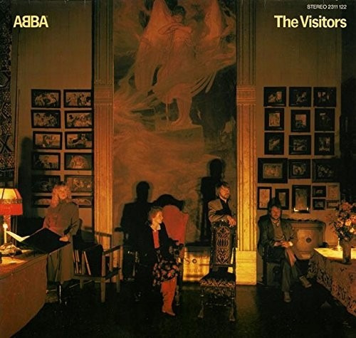 Abba The Visitors Vinilo Importado De 180 Gramos
