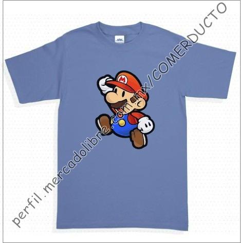Playera Mario Bros Playeras Nintendo Lzfk