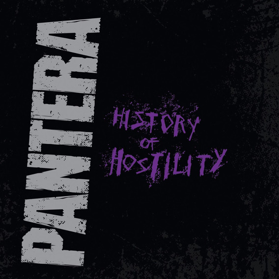 Cd Pantera History Of Hostility Digipak Lacrado Cowboys Hell
