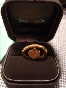 Anel Tiffany Ouro Rose.