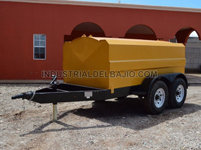 Remolque Pipa Tanque 4750 Lts. Para Combustible Diesel