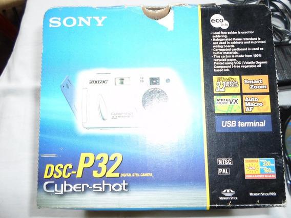 Sony Cyber-shot Dsc P32 - Completa