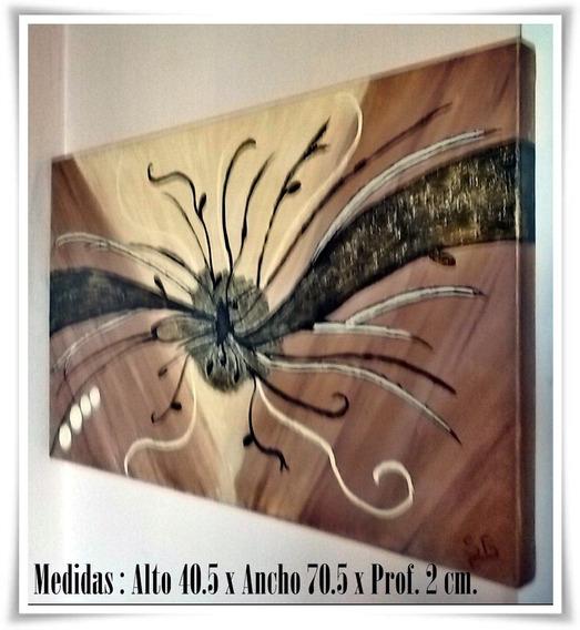 Cuadro Artesanal Alto 40.5 X Ancho 70.5 X Profundidad 2 Cm. - Villa Urquiza - Capital Federal