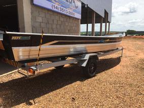 Barco De Aluminio 600s Pety Brazil Borda Alta Motozum