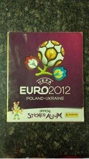 Álbum Panini Eurocopa 2012
